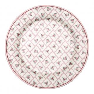 GreenGate Frühstücksteller Rita pale pink