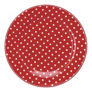 GreenGate Frühstücksteller Spot red