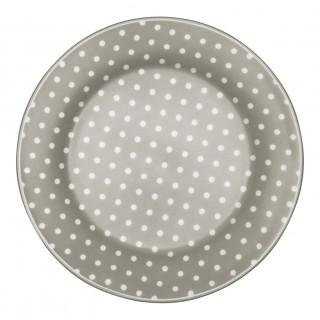 GreenGate Frühstücksteller Spot grey