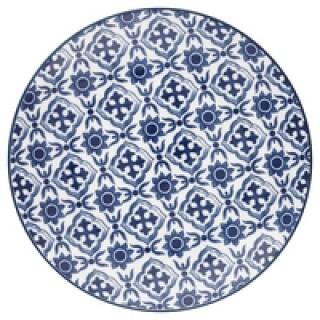GreenGate Frühstücksteller Hope blue