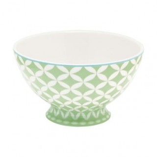 GreenGate Soup Bowl Mai green