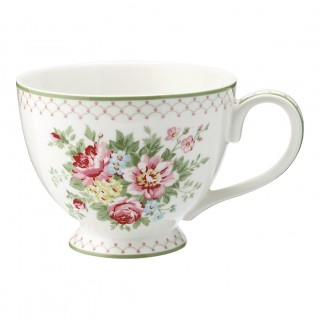GreenGate Teetasse Aurelia white