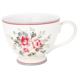 GreenGate Teetasse Elouise white