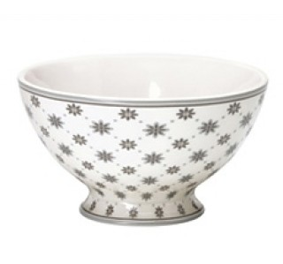 GreenGate Soup Bowl Laurie white