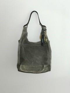 Anokhi Hobo-Bag CHEYENNE mit Pouch Suede Grey