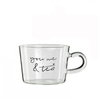 Bastion Collection Teeglas 'you me & tea'