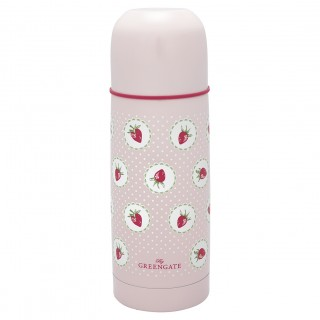 GreenGate Thermoskanne Strawberry pale pink 300ml