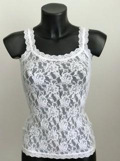 Hanky Panky ' Classic Signature lace Camisole' Spitzenunterhemd white