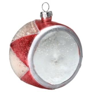 GreenGate Weihnachtsschmuck Trommel pale pink